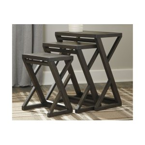 Ashley FurnitureSIGNATURE DESIGN BY ASHLEAccent Table Set (3/CN)