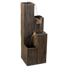 Timber - Indoor/Outdoor Floor Fountain