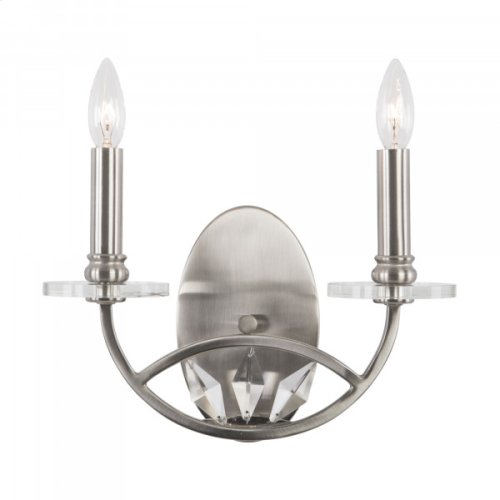 Cascade Collection Two-Light Incandescent Sconce,