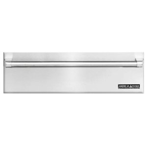 """36"""" Stainless Steel Warming Drawer With Classic Handle"""