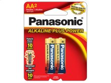 Alkaline Plus Power AA 2-Pack