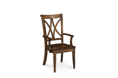 Hanna Arm Chair, Fabric Seat