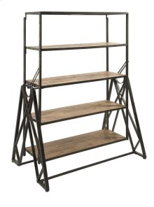 Convertible Dining Table Bookshelf