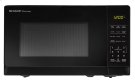 0.7 cu. ft. 700W Sharp Black Carousel Countertop Microwave Oven Product Image