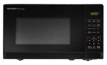 0.7 cu. ft. 700W Sharp Black Carousel Countertop Microwave Oven (SMC0710BB)