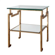 Anton Side Table, Gold
