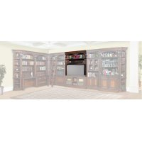Corsica 60 in. Bookcase Bridge, Shelf and Back panel Product Image