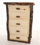 Dark 5 Drawer Chest Product Image