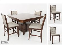 Manchester High/low Dining Table With Four Stools