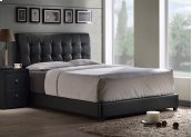 Lusso Full Bed Set - Black