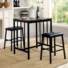 Joleen 3 Pc. Counter Ht. Table Set