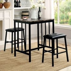 Joleen 3 Pc. Counter Ht. Table Set Product Image