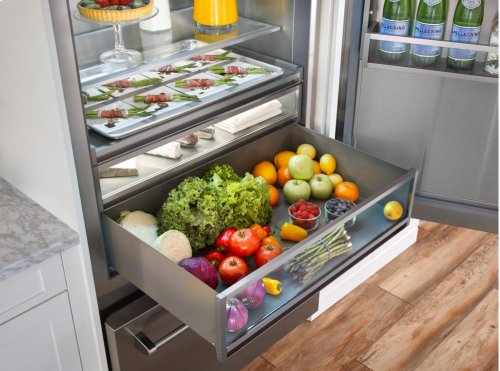 "36"" Built-In Refrigerator/Freezer"