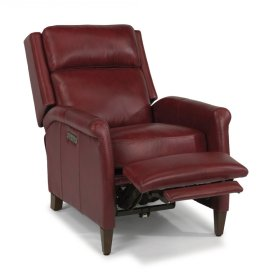 Adele Leather Power High-Leg Recliner