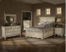 Wilshire 5pc King Panel Storage Bedroom Suite