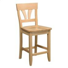 Model 56 Counter Stool Wood Seat