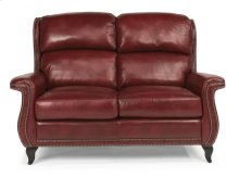 Sting Ray Leather Loveseat