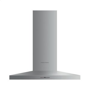 "Fisher & PaykelWall Range Hood, 36"", Pyramid Chimney"