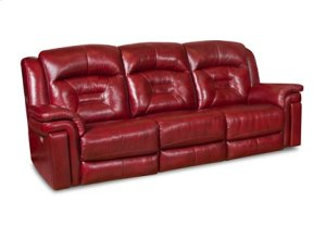 Avatar Double Reclining Sofa with Power Headrest