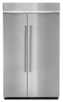 EDMOND LOCATION ONLY! - 30.0 cu. ft 48-Inch Width Built-In Side by Side Refrigerator with PrintShield Finish - Stainless Steel