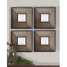 Fendrel Square Mirrors, S/4