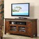 Craftsman Home - 62-inch TV Console - Americana Oak Finish Product Image