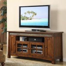 Craftsman Home - 62-inch TV Console - Americana Oak Finish