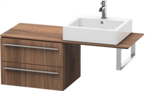 Low Cabinet For Console, Natural Walnut (decor)