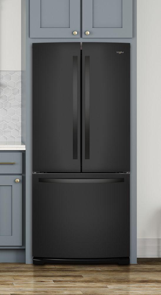 Whirlpool 30 Inch Wide French Door Refrigerator   20 Cu. Ft.