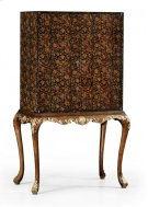 Black Chinoiserie Drinks Cabinet Product Image