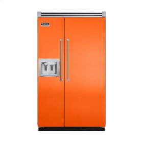 "Pumpkin 48"" Quiet Cool™ Side-by-Side with dispenser - VISB Tru-Flush™ (48"" wide)"