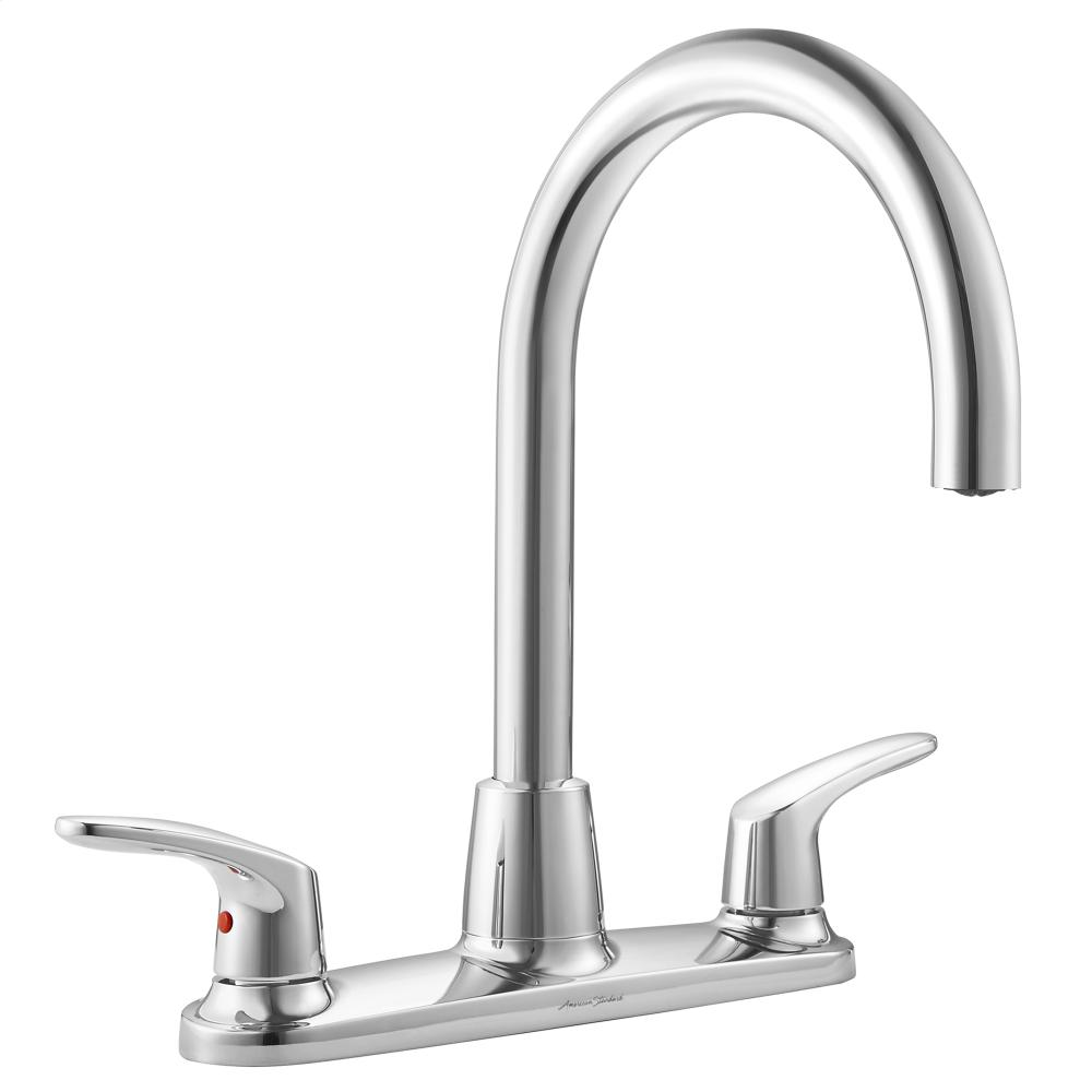 Colony Pro High Arc Kitchen Faucet American Standard   Polished Chrome