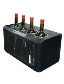 Il Romanzo 4-Bottle Open Wine Cooler