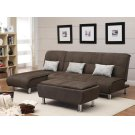 Ellwood Transitional Brown Chaise Product Image