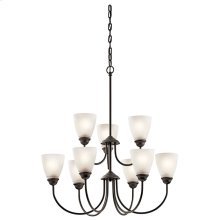 Jolie Collection Jolie 9 light Chandelier OZ