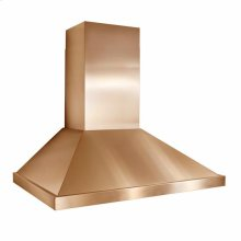 "36"" Copper Range Hood with 1000 CFM Internal Blower"