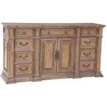 Tuscan Scrolled Sideboard - Light