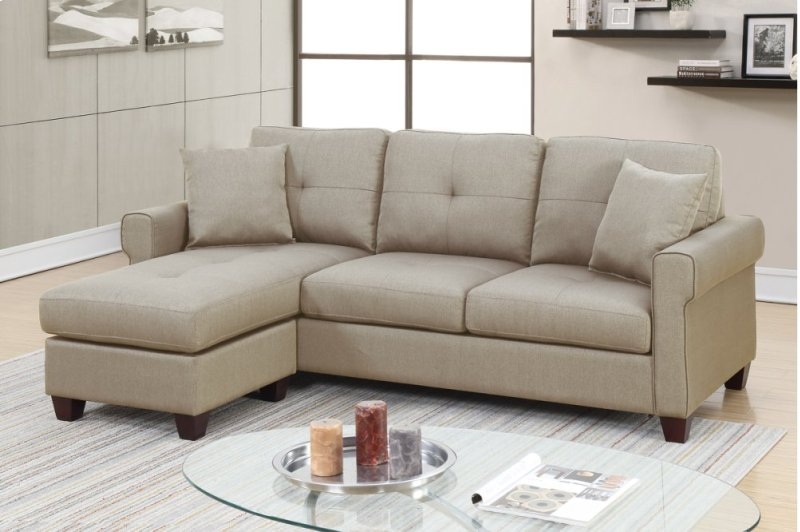 F6572 By Poundex In Oxnard Ca 2 Pcs Sectional Sofa