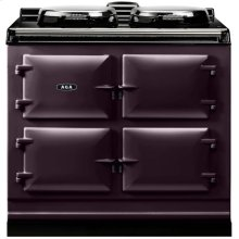 Aubergine AGA Dual Control 3-Oven All Electric