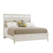 Cypress Grove Wood Panel Bed - Parchment / Queen