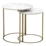 Carrera Round Nesting Accent Table Product Image