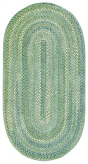 Sailor Boy Sea Monster Green Braided Rugs