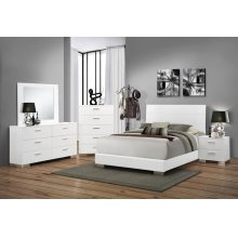 Felicity Contemporary White Queen Four-piece Set