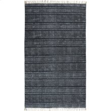 9'x12' Size Indigo Block Print Rug