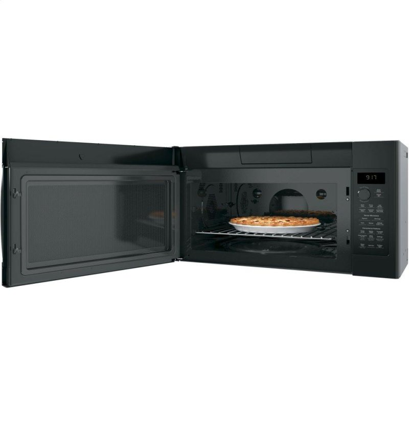 GE Profile™ Series 1 7 Cu  Ft  Convection Over-the-Range Microwave Oven