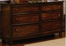 CF-1100 Bedroom - 6 Drawer Dresser - Sunset Trading