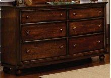 CF-1100 Bedroom - 6 Drawer Dresser - Sunset Trading