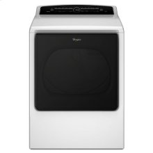 Whirlpool® 8.8 cu.ft Top Load HE Gas Dryer with Advanced Moisture Sensing, Intuitive Touch Controls - White