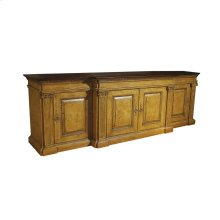 Classic Media Cabinet with Lift