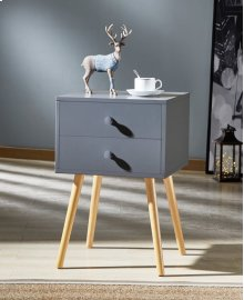 7085 Gray End Table
